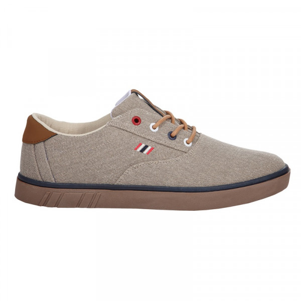 Canvas Sneaker Denim Ecru (5204-0090)