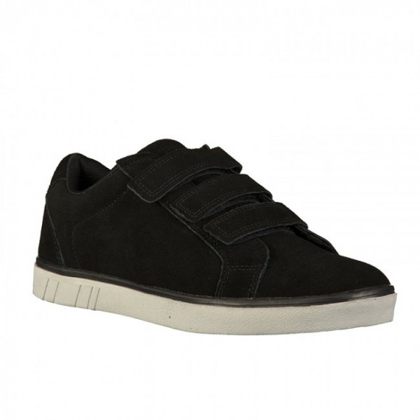 Boras Retro Sports Suede Velcro 5209-0001 Δερμάτινο Casual Μαύρο