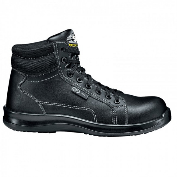SIR Black Fobia Ankle High Shoes (26089)