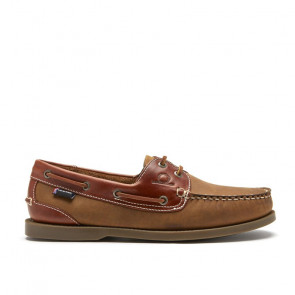 Chatham Bermuda G2 Walnut Δερμάτινα Boat Shoes Καφέ