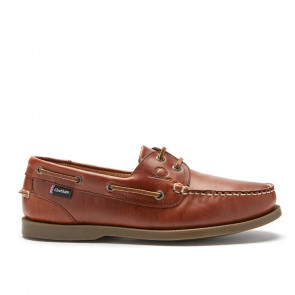 Chatham Deck G2 Chestnut Δερμάτινα Boat Shoes Καφέ