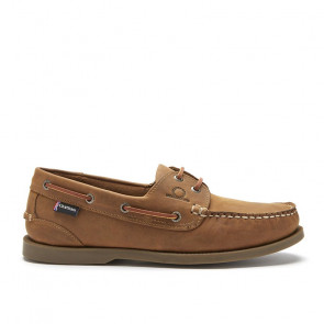 Chatham Deck G2 Walnut Δερμάτινα Boat Shoes Ταμπά