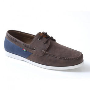 D555 Monroe KS24104 Boat Shoes Καφέ