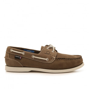 Chatham Pacific G2 Δερμάτινα Boat Shoes Γκρι