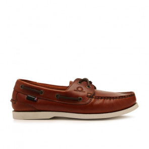Chatham Classic G2 Seahorse Δερμάτινα Boat Shoes Καφέ