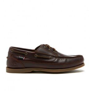 Chatham Rockwell Dark Seahorse Δερμάτινα Boat Shoes Καφέ