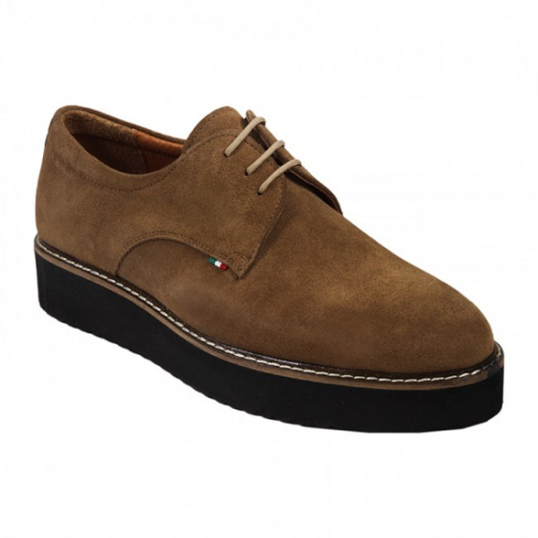 Bigshoes KL5723-07 Leather Oxford Cigar
