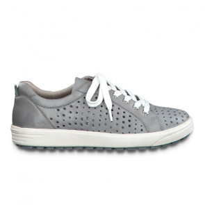 Jana 23615-24-800 Leather Sneaker Grey