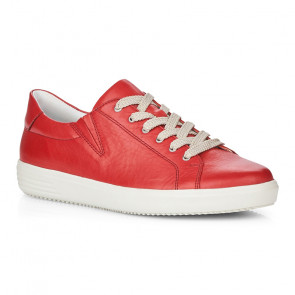 Remonte D1402-33 Leather Sneaker Red
