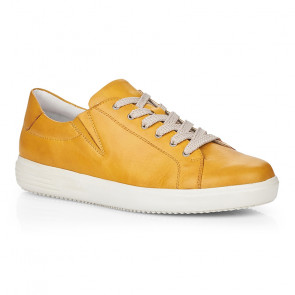 Remonte D1402-68 Leather Sneaker Yellow