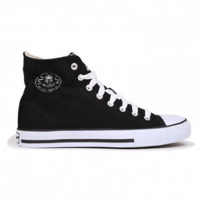 Dunlop Canvas Hi Black