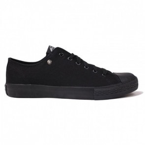 Dunlop Canvas Low Black/Black