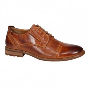 Boras Casual 6001-0409 Leather Brown Dress Shoes