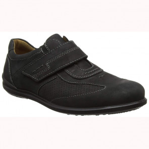 Jomos 31521012 Leather Comfort Casual Shoes Black