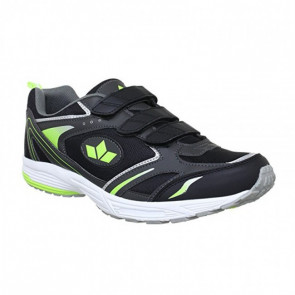 Lico Marvin 120077 Black Green Velcro Sport Shoes