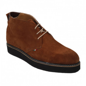 Bigshoes KL5150-09 Leather Oxford Tan