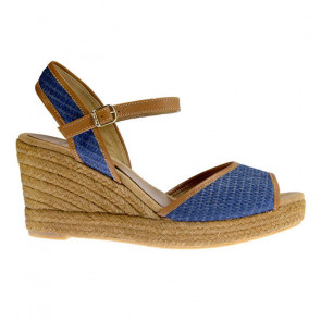Toni Pons Altea-18 Blue Wedges 9cm