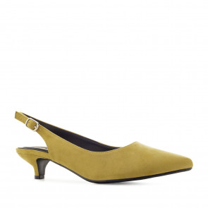 Andres Machado 5361-24 Pump Yellow 5.5cm