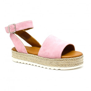 Bigshoes GA0208-17 Leather Sandals Pink