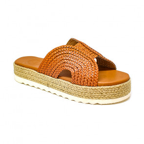 Bigshoes GA0210-01 Leather Sandals Tan