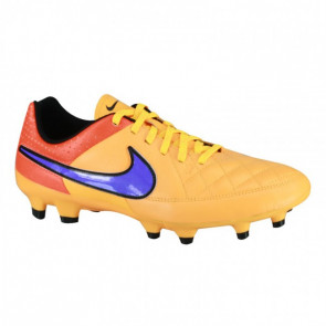 Nike Tiempo Genio 631282-858 Orange Sports Shoes