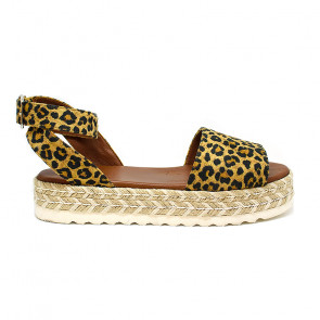 Bigshoes GA0206-13 Leather Sandals Leopard