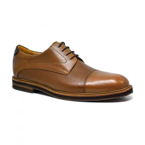 Bigshoes KL3711-09 Leather Dress Shoes  Tan