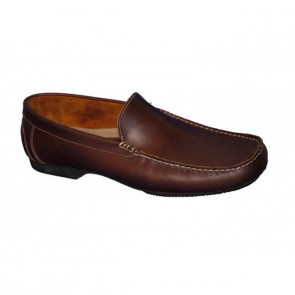 Bigshoes GR0053-05 Leather moccasins  Brown
