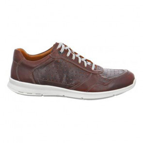 Jomos 32440370762 Leather Comfort Brown Casual Shoes