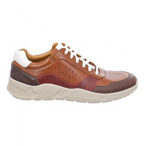 Jomos 3254026344036 Leather Comfort Tan Casual Shoes