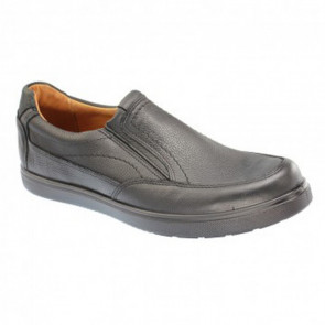 Jomos 317207354 Leather Comfort Casual Shoes Black