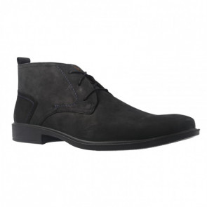 Jomos 208206130000 Leather Ankle Boot Black