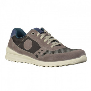 Jomos 3193069292104 Leather Comfort Casual Shoes Grey