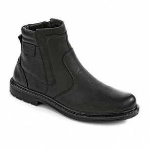 Jomos 20750537000 Leather Ankle Boot Black