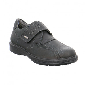 Jomos 45980241000 Leather Comfort Casual Shoes Black