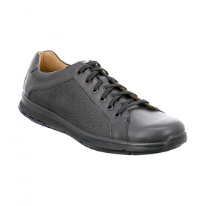 Jomos 324212257000 Leather Comfort Casual Shoes Black