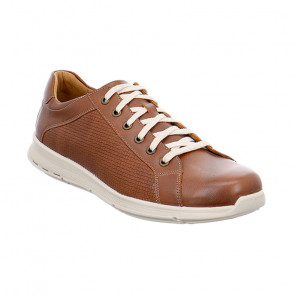 Jomos 324212257322 Leather Comfort Casual Shoes Tan