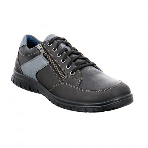 Jomos 423301136000 Leather Comfort Casual Shoes Black