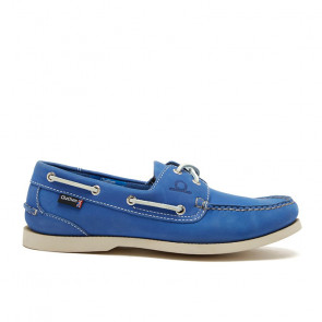 Chatham Pacific G2 Navy Leather Blue Boat Shoes