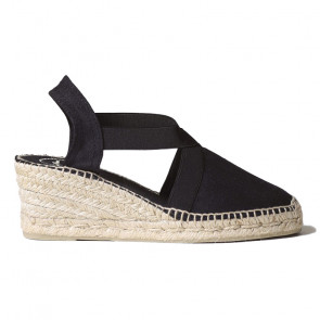 Toni Pons Ter-01 Black Wedges 6cm