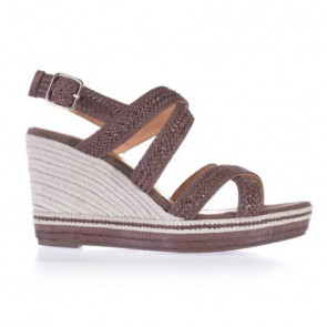 Toni Pons Africa-05 Brown Wedges 7cm